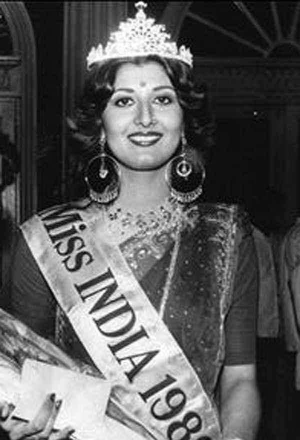 Image result for मीनाक्षी शेषाद्री मिस इंडिया